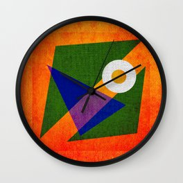 Abstract pattern Contemporary Wall Clock