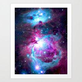 Orion Nebula Bright Unicorn Art Print