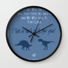 curse you and your sudden but inevitable betrayal, firefly serenity Wall Clock
