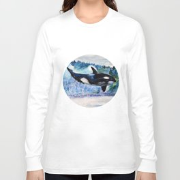 Whale of Freedom Long Sleeve T-shirt
