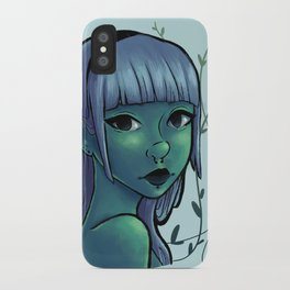 Cool Ivy iPhone Case