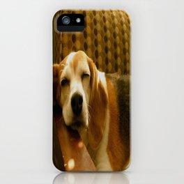 Sleepy Beagle iPhone Case