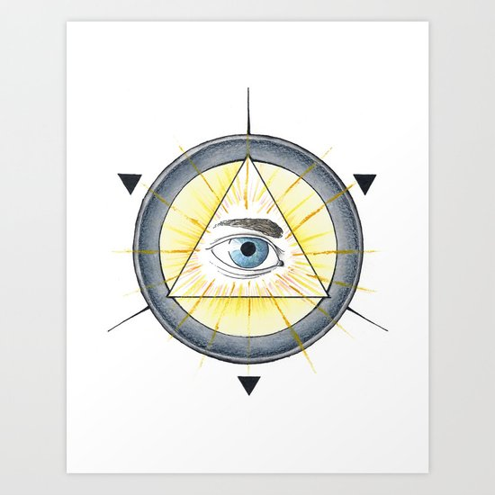 Eye of Providence Art Print