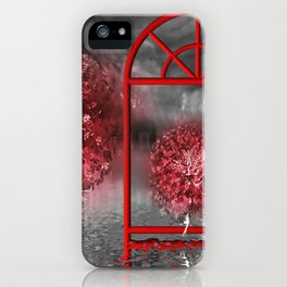 just a lost place iPhone Case