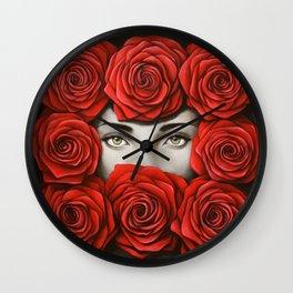 Lover bird Wall Clock