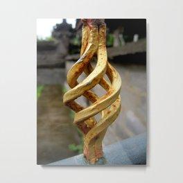 Temple Gate Metal Print