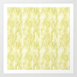 Soft Seaweed Art Print