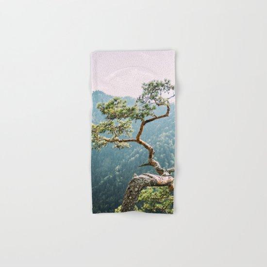Sokolica Mountain Pine Tree Hand & Bath Towel