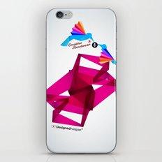 Paper Birds iPhone & iPod Skin
