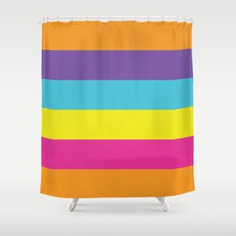 Gender Non-Binary Pride Shower Curtain