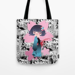 Hina pink Tote Bag