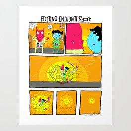 Fleeting Encounter Art Print