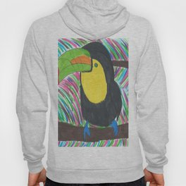 Colorful Tropical Toucan Hoody