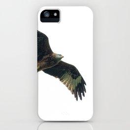 Red Kite in flight iPhone Case