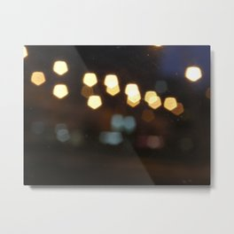 Scrached lightings Metal Print