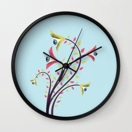 Eyes Are Watching You Wall Clock