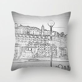 Bristol Harbourside Throw Pillow