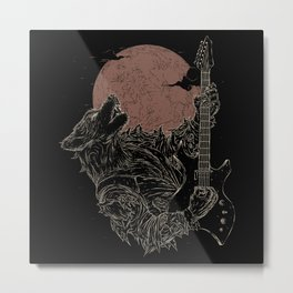 The Rock Werewolf Metal Print
