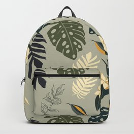 Gold in the Tropical Jungle  Backpack