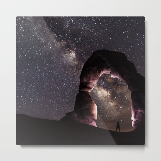 Watching stars Metal Print