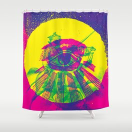 This Guiding Light Shower Curtain