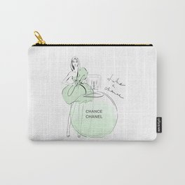 Girl with Green Perfume Carry-All Pouch