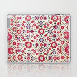 Kermina Suzani South West Uzbekistan Embroidery Print Laptop & iPad Skin