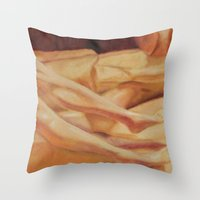 legs Throw Pillows featuring Legs by Jesse Futter
