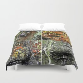 Tableau of Archetypal Structures Duvet Cover
