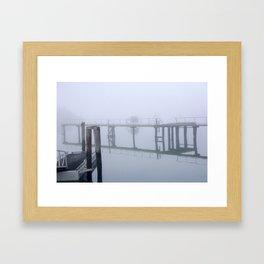 Port Chalmers Framed Art Print