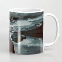 wanderlust Mugs featuring Wanderlust by UtArt