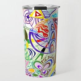 Filanes-45 couleur fond bleu Travel Mug