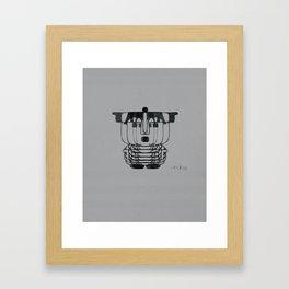 ANALOG zine Framed Art Print