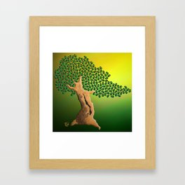 Beetle Bonsai Framed Art Print