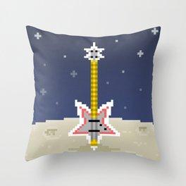 Space Bass Throw Pillow