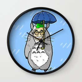 Hayao Miyazaki IS... Tortoro.  Is this his goodbye? Wall Clock
