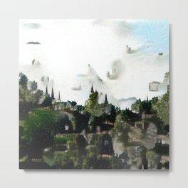 Terraces and Steeples Metal Print