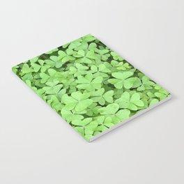 Green Clovers Notebook