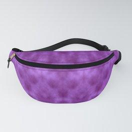 Lions Purple Damask Fanny Pack