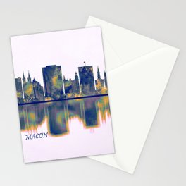 Macon Skyline Stationery Cards