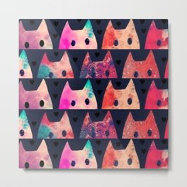 cats-54 Metal Print