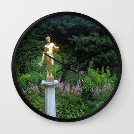 Pan in the Gardens Wall Clock