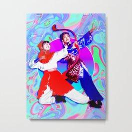 Angie & Fern 2 Metal Print