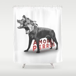 Amores Perros Shower Curtain