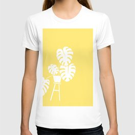 Yellow House Plant T-shirt