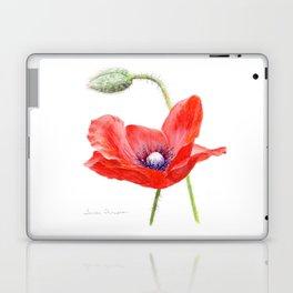 Red Poppy by Teresa Thompson Laptop & iPad Skin