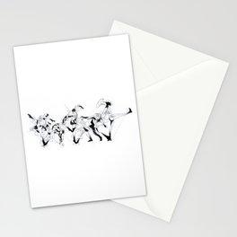 Entre le Jeu et les Moi Stationery Cards