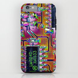 Short Circuit iPhone Case