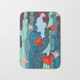 Cacti bloom Bath Mat