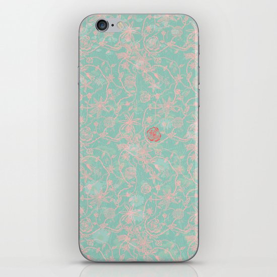 Tribal Flowers iPhone & iPod Skin